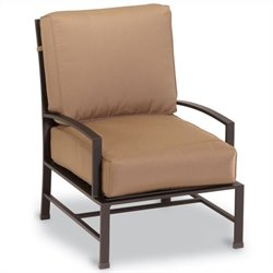 Sunset West La Jolla Club Chair in Espresso