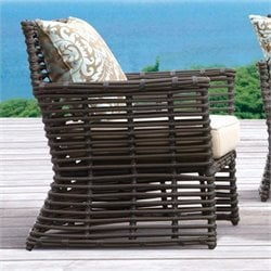 Sunset West Venice Club Chair in Chocolate