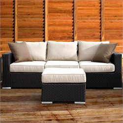 Sunset West Solana Sofa in Chocolate