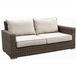 Sunset West Coronado Loveseat in Driftwood