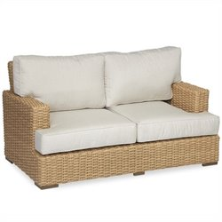 Sunset West Leucadia Loveseat in Summer Wheat