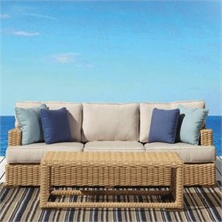 Sunset West Leucadia Sofa in Summer Wheat