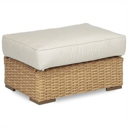 Sunset West Leucadia Ottoman in Summer Wheat