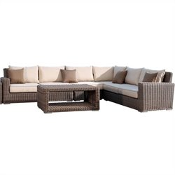 Sunset West Coronado Sectional in Driftwood