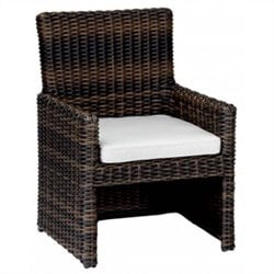 Sunset West Montecito Dining Chair in Cognac