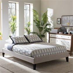 Lancashire Queen Bed in Beige