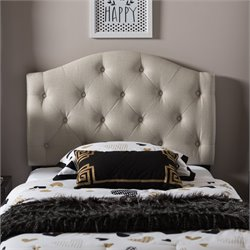 Myra Faux Leather Upholstered Twin Headboard