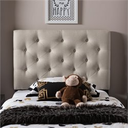Viviana Faux Leather Upholstered Twin Headboard