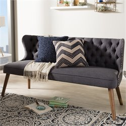 Scarlett Sofa in Dark Gray