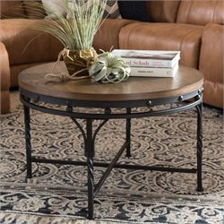 Austin Coffee Table in Antique Bronze