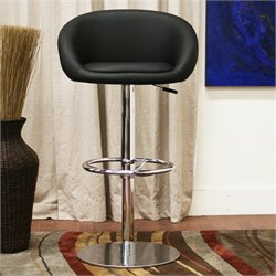 Wynn Bar Stool in Black (Set of 2)