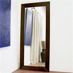 Doniea Rectangular Mirror in Light Cappuccino