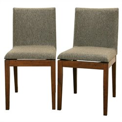 Moira Dining Chair in Brown (Set of 2)