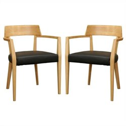 Laine Dining Chair in Natural (Set of 2)