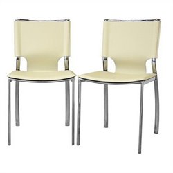 Montclare Dining Chair in Ivory (Set of 2)