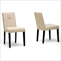 Elsa Dining Chair in Dark Brown (Set of 2)