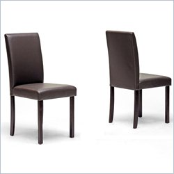 Susan Dining Chair in Brown