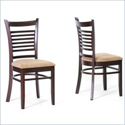 Cathy Dining Chair in Taupe (Set of 2)