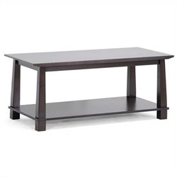 Havana Coffee Table in Dark Brown