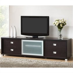 Botticelli TV Stand in Dark Brown