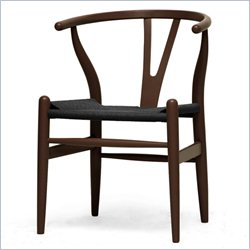 Wishbone Y Dining Chair in Dark Brown
