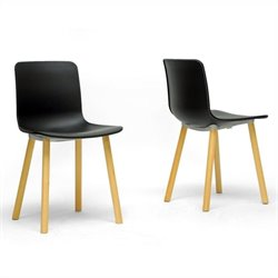 Lyle Dining Chair in Black (Set of 2)