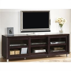 Pacini TV Stand in Dark Brown