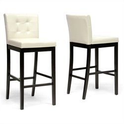 Prospect Bar Stool in Cream (Set of 2)