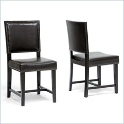 Nottingham Dining Chair in Dark Brown (Set of 2)