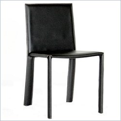 Regal Dining Chair in Black (Set of 2)