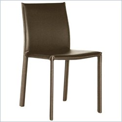 Burridge Dining Chair in Brown (Set of 2)