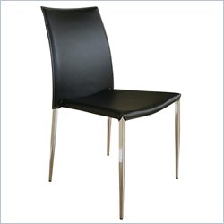 Benton Dining Chair in Black (Set of 2)