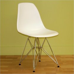 Dining Chair in White (Set of 2)