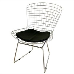 Bertoia  Dining Chair in Silver (Set of 2)
