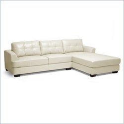 Dobson Sectional Sofa in Cream