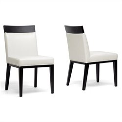 Clymene Dining Chair in Cream (Set of 2)