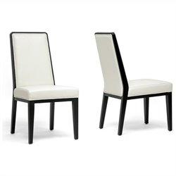 Theia Dining Chair in Cream (Set of 2)