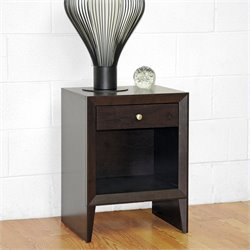 Leelanau Accent Table and Nightstand in Dark Brown