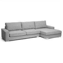 Brigitte Sectional Sofa in Gray