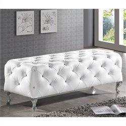 Stella Bench in White