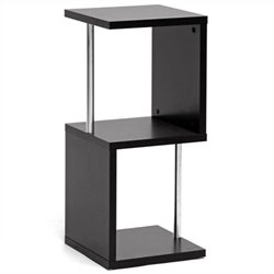 Lindy 2-Tier Display Shelf in Dark Brown