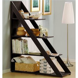 Psinta Shelving Unit in Dark Brown