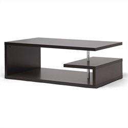 Lindy Coffee Table in Dark Brown