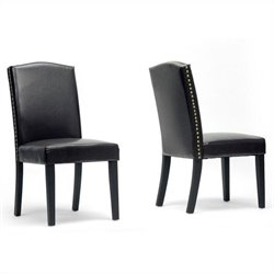 Trullinger Dining Chair in Dark Brown (Set of 2)
