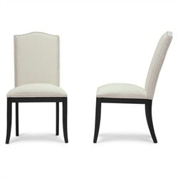 Tyndall Dining Chair in Beige (Set of 2)