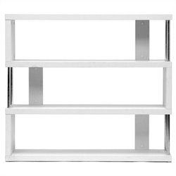 Barnes Bookcase in White