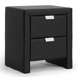 Frey Nightstand in Black