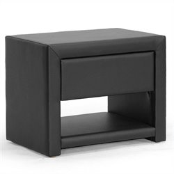 Massey Nightstand in Black