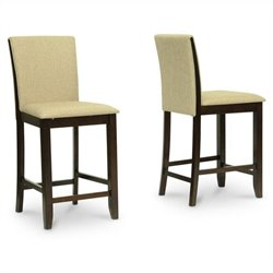 Everdon Pub Chair in Brown (Set of 2)