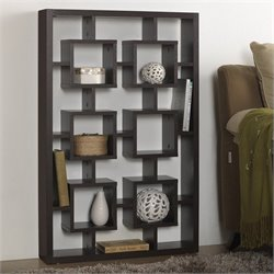 Eyer Display Shelf in Espresso